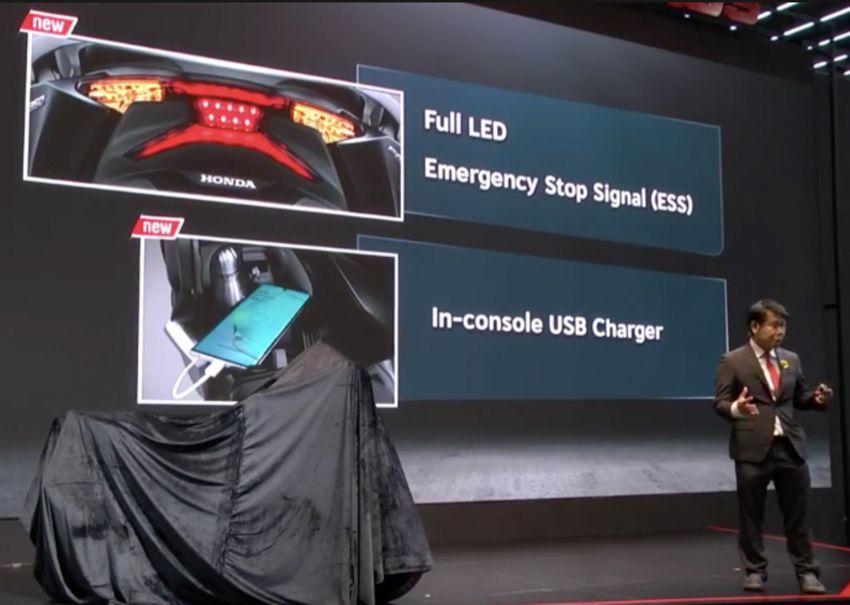 Honda Forza 350 diperkenal di Thailand – dari RM25k Image #1145851