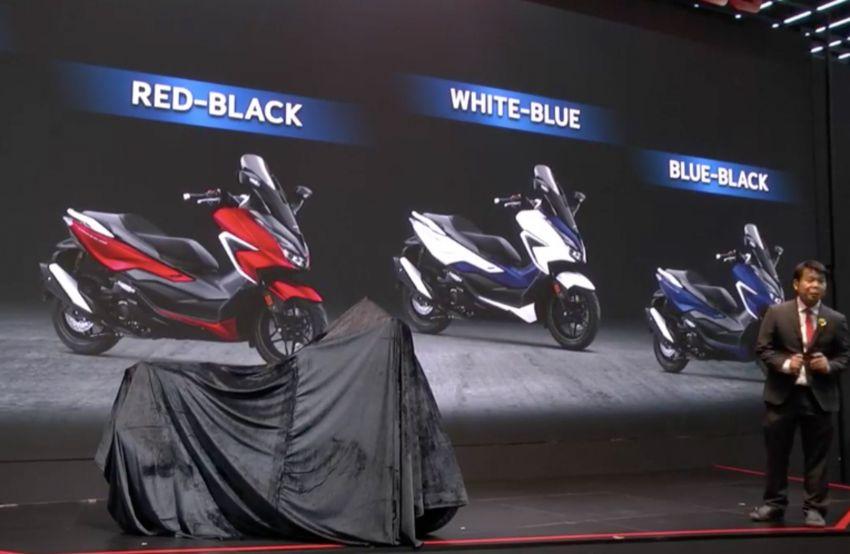 Honda Forza 350 diperkenal di Thailand – dari RM25k Image #1145853