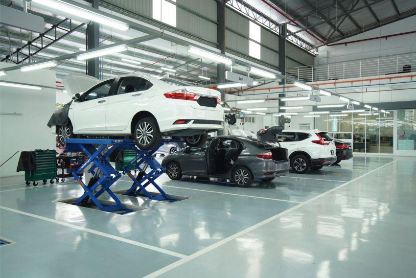 Pusat 3S Honda Elmina Motors dibuka di Shah Alam Image #1145547