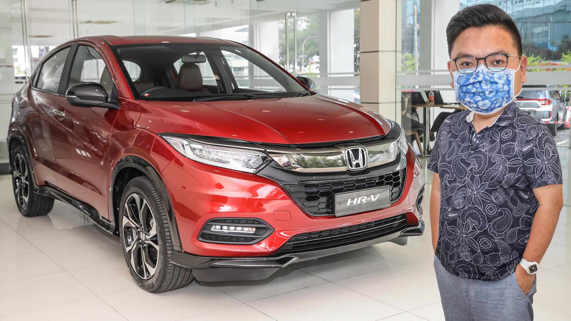 Quick Look 2020 Honda Hr V Rs Brown Interior Paultan Org