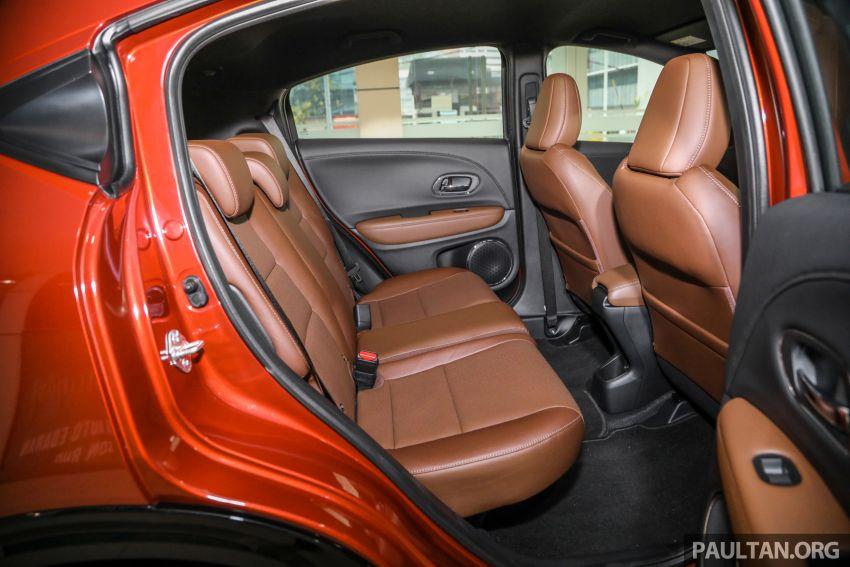 GALERI: Honda HR-V RS dengan kabin kemasan kulit warna coklat — tiada tambahan kos dikenakan Image #1143621