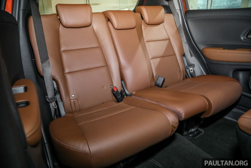 GALERI: Honda HR-V RS dengan kabin kemasan kulit warna coklat — tiada tambahan kos dikenakan Image #1143622
