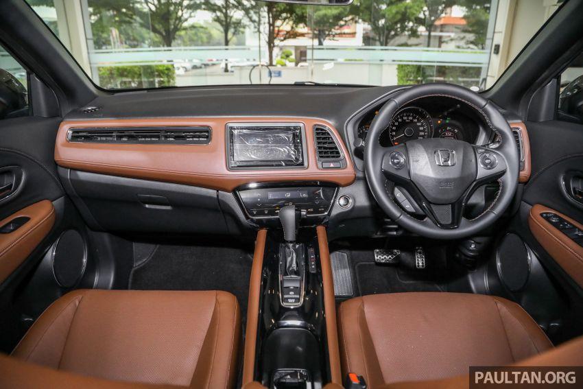 GALERI: Honda HR-V RS dengan kabin kemasan kulit warna coklat — tiada tambahan kos dikenakan Image #1143606