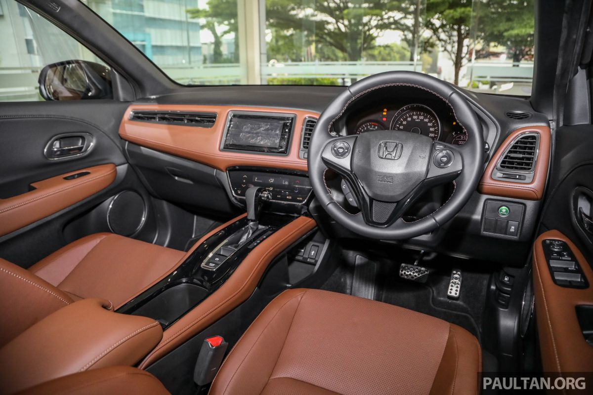 Honda HR V RS Brown Interior Malaysia Int 2 1200x800.'