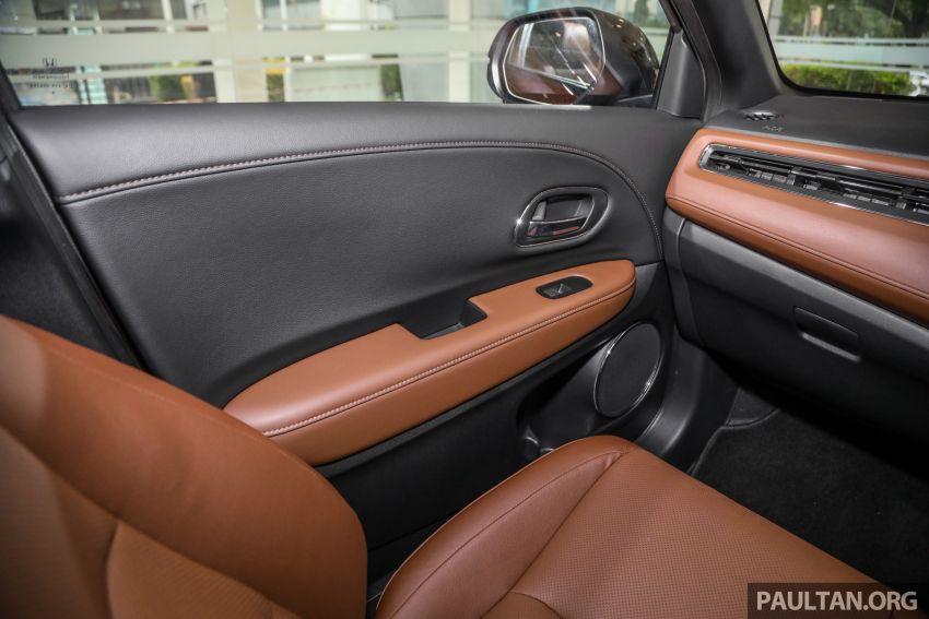GALERI: Honda HR-V RS dengan kabin kemasan kulit warna coklat — tiada tambahan kos dikenakan Image #1143610