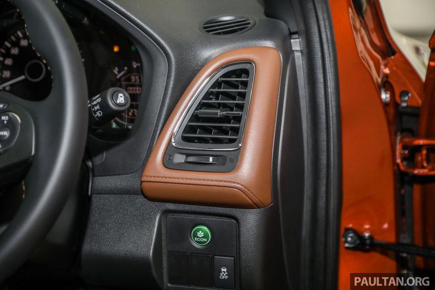 GALERI: Honda HR-V RS dengan kabin kemasan kulit warna coklat — tiada tambahan kos dikenakan Image #1143613