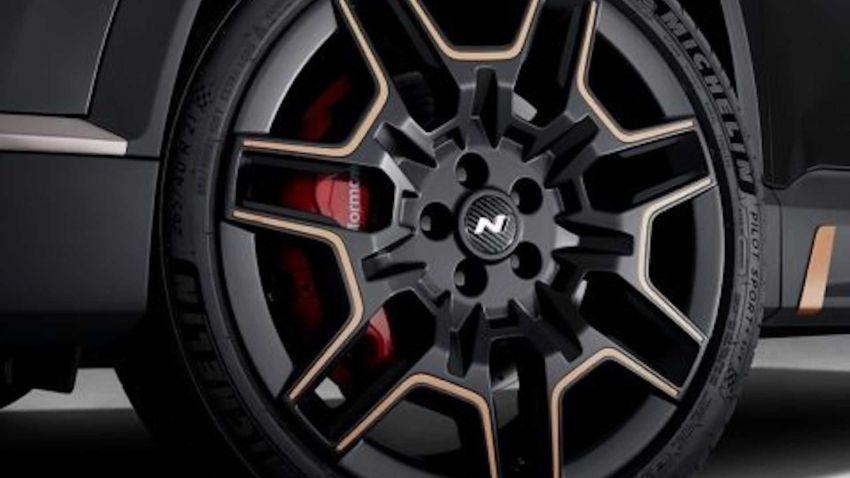 Hyundai Santa Fe 2021 dapat N Performance Parts Image #1152386
