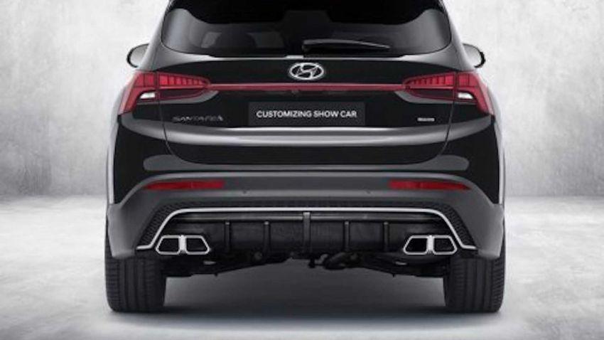 Hyundai Santa Fe 2021 dapat N Performance Parts Image #1152390