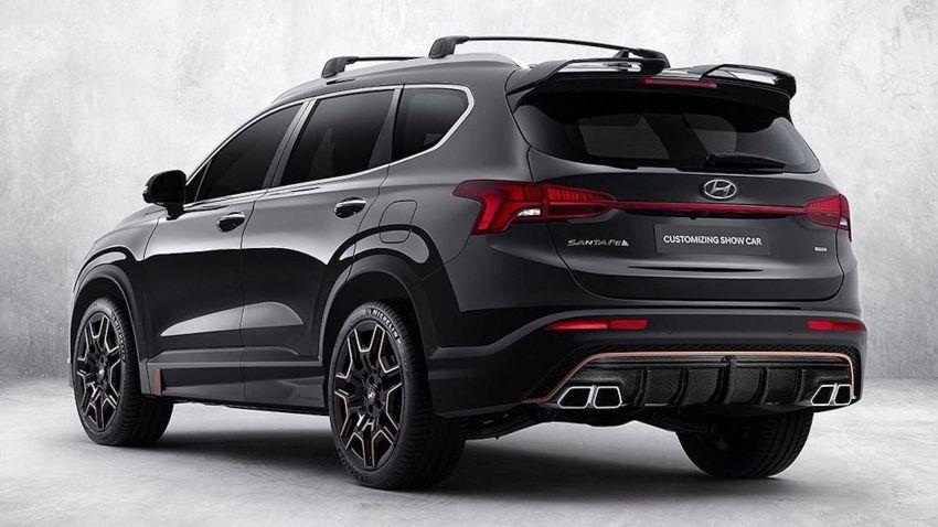 Hyundai Santa Fe 2021 dapat N Performance Parts Image #1152395