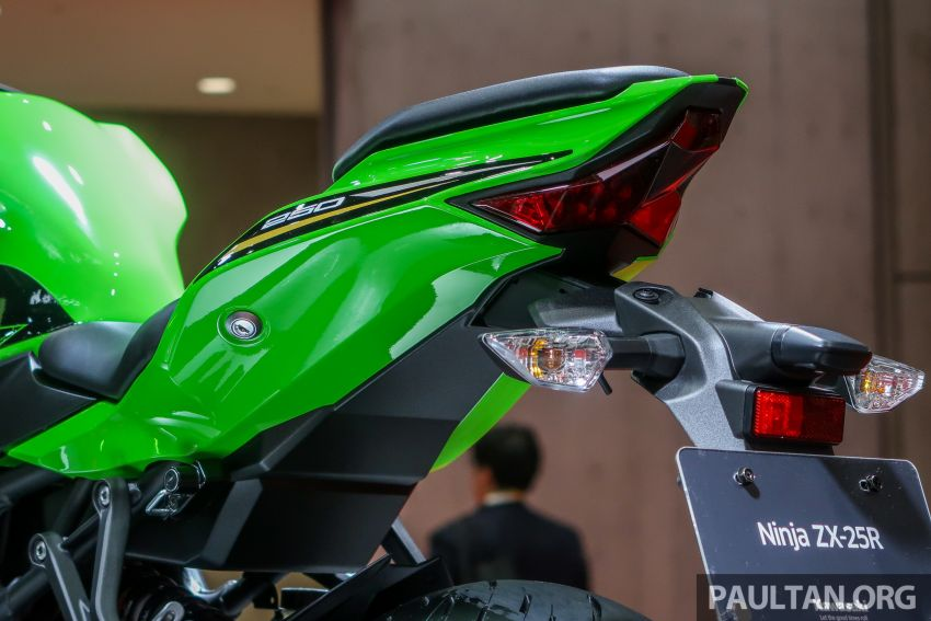 2020 Kawasaki ZX-25R launched in Indonesia – two versions, Standard at RM28,427, SE at RM33,431 Image #1144854