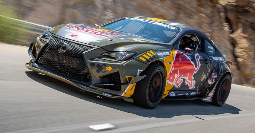 Lexus RC F Carbon Kevlar debuts – competition-spec drift car with 2JZ turbo engine; 1,200 hp and 1,464 Nm Image #1153647