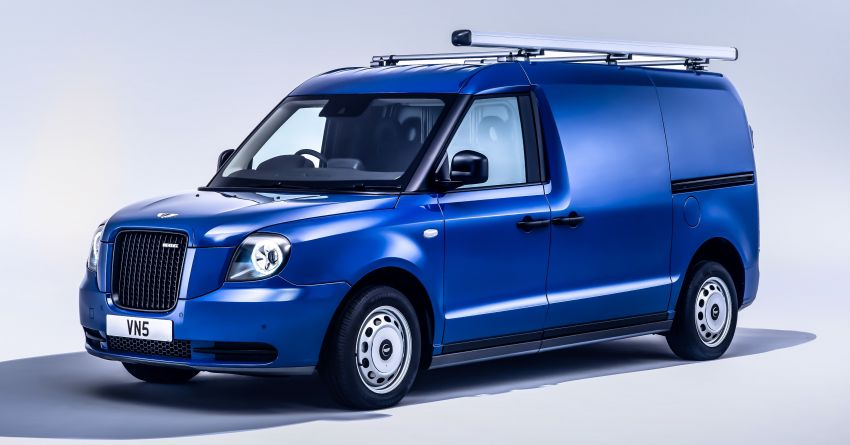 LEVC VN5 debuts – EV black cab becomes a delivery van; up to 484 km of range; 5,500 litres of cargo space Image #1144710
