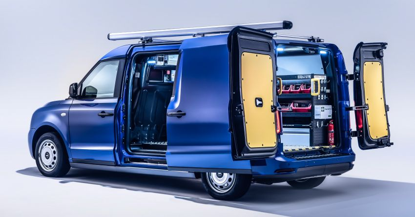 LEVC VN5 debuts – EV black cab becomes a delivery van; up to 484 km of range; 5,500 litres of cargo space Image #1144712
