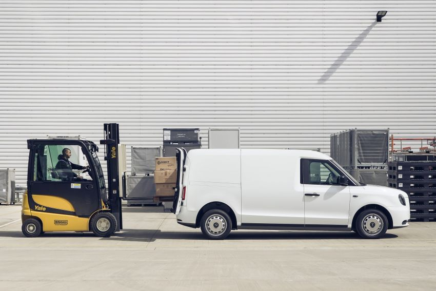 LEVC VN5 debuts – EV black cab becomes a delivery van; up to 484 km of range; 5,500 litres of cargo space Image #1144715