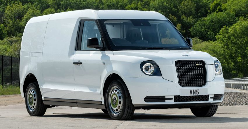 LEVC VN5 debuts – EV black cab becomes a delivery van; up to 484 km of range; 5,500 litres of cargo space Image #1144716