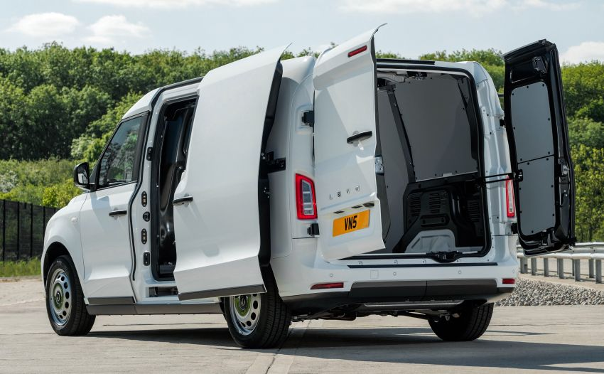 LEVC VN5 debuts – EV black cab becomes a delivery van; up to 484 km of range; 5,500 litres of cargo space Image #1144717