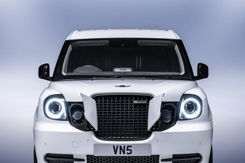 LEVC VN5 debuts – EV black cab becomes a delivery van; up to 484 km of range; 5,500 litres of cargo space Image #1144719