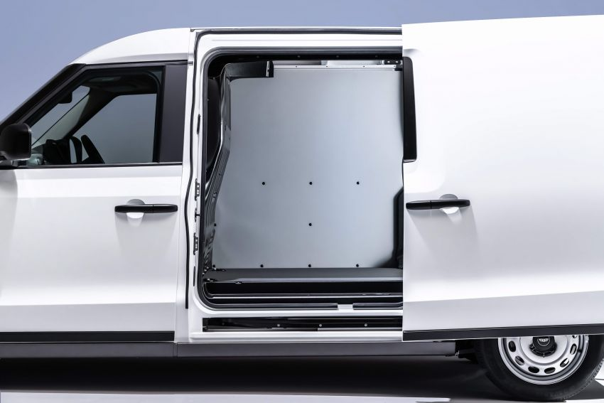 LEVC VN5 debuts – EV black cab becomes a delivery van; up to 484 km of range; 5,500 litres of cargo space Image #1144722