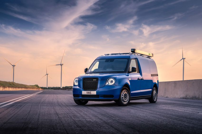 LEVC VN5 debuts – EV black cab becomes a delivery van; up to 484 km of range; 5,500 litres of cargo space Image #1144700