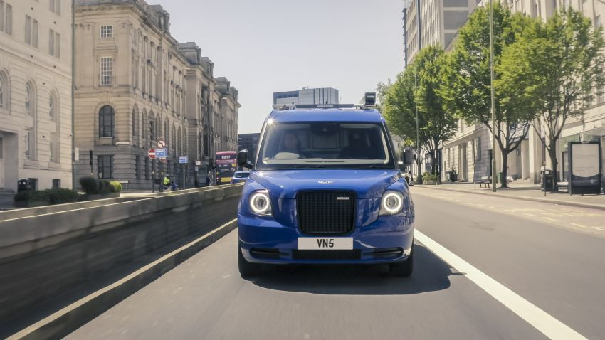 LEVC VN5 debuts – EV black cab becomes a delivery van; up to 484 km of range; 5,500 litres of cargo space Image #1144701