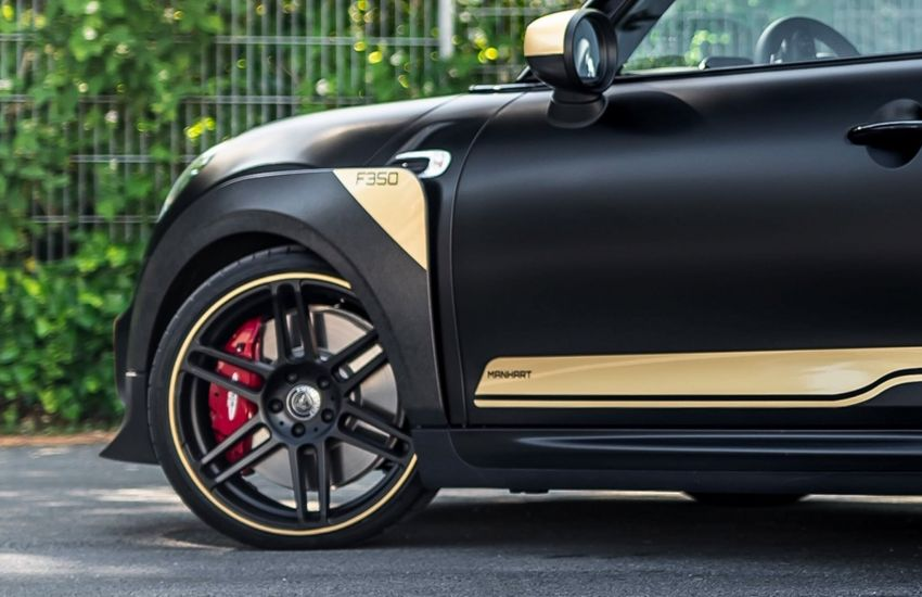 MINI John Cooper Works GP gets the Manhart touch to become the GP3 F350 – 2.0L turbo with 350 hp, 530 Nm Image #1151564