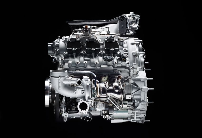 Maserati MC20's Nettuno engine detailed – 3L twin-turbo V6 with F1-derived tech; 630 PS and 730 Nm Image #1139541