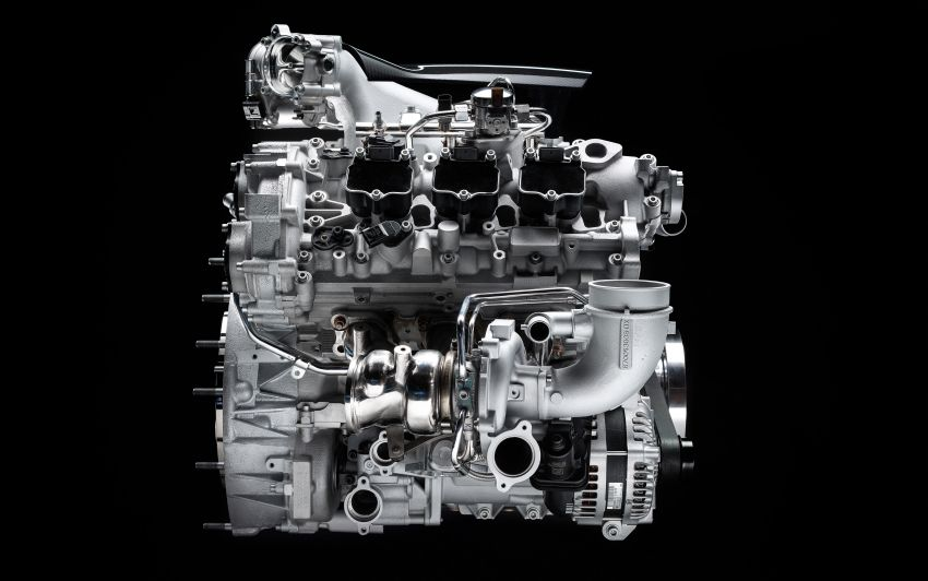 Maserati MC20's Nettuno engine detailed – 3L twin-turbo V6 with F1-derived tech; 630 PS and 730 Nm Image #1139542
