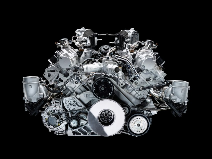 Maserati MC20's Nettuno engine detailed – 3L twin-turbo V6 with F1-derived tech; 630 PS and 730 Nm Image #1139545
