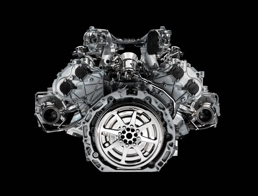 Maserati MC20's Nettuno engine detailed – 3L twin-turbo V6 with F1-derived tech; 630 PS and 730 Nm Image #1139547