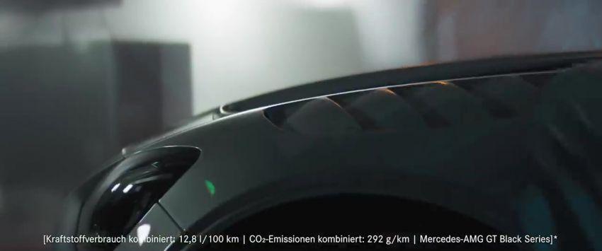 Mercedes-AMG GT Black Series makes its video debut Image #1143917