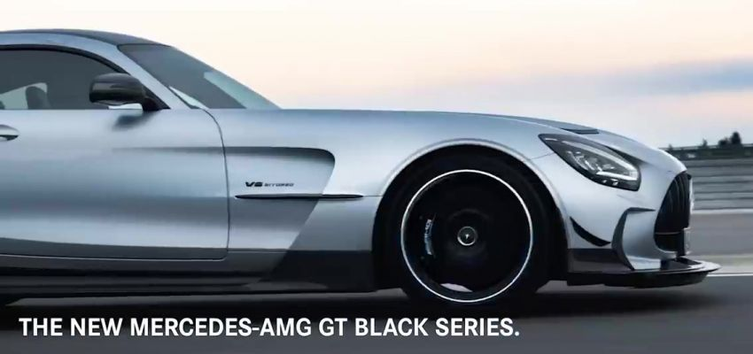 Mercedes-AMG GT Black Series makes its video debut Image #1143926
