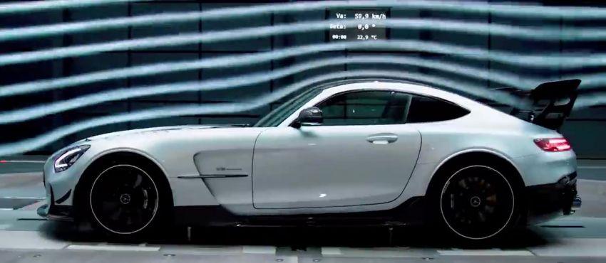 Mercedes-AMG GT Black Series makes its video debut Image #1143919