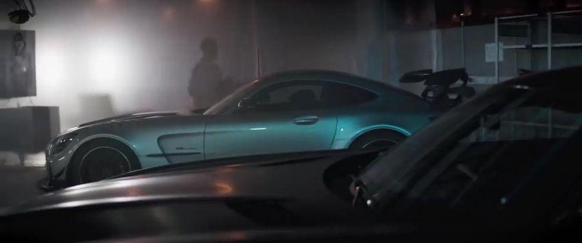 Mercedes-AMG GT Black Series makes its video debut Image #1143921