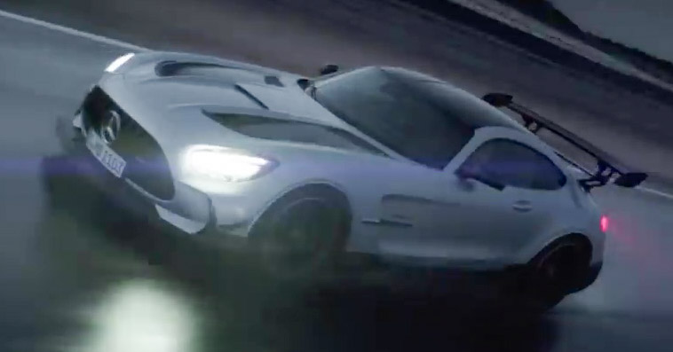 Mercedes-AMG GT Black Series makes its video debut Image #1143923