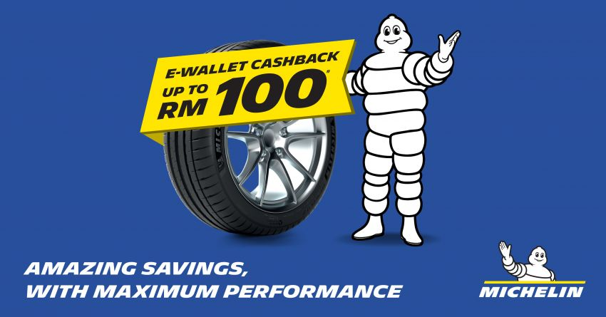 AD: Michelin E-Wallet Cashback – get rebates with two or more tyres purchased from Tyreplus and affliates! Image #1144905