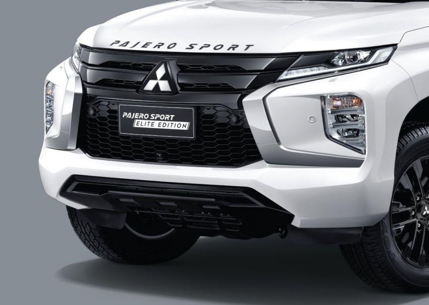 Mitsubishi Pajero Sport Elite Edition 2020 didedahkan di Thai – GT Premium lebih garang, bermula RM209k Image #1142697