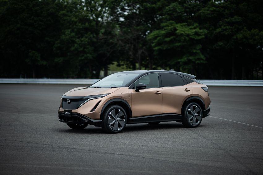 Nissan Ariya production electric SUV – up to 388 hp, 610 km range, e-4ORCE AWD, 0-100 km/h 5.1 secs Image #1146979