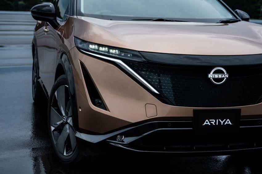 Nissan Ariya production electric SUV – up to 388 hp, 610 km range, e-4ORCE AWD, 0-100 km/h 5.1 secs Image #1146999