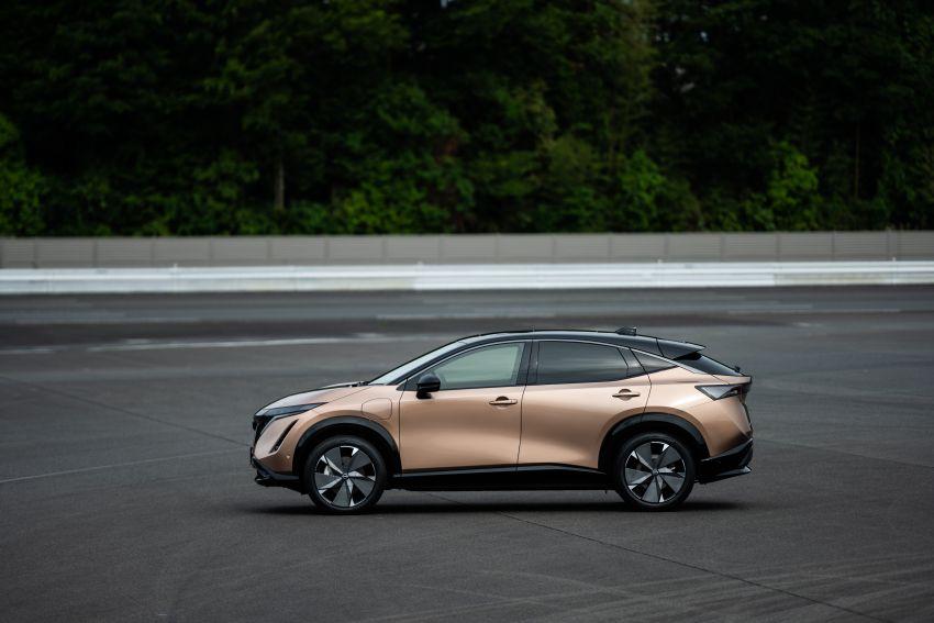Nissan Ariya production electric SUV – up to 388 hp, 610 km range, e-4ORCE AWD, 0-100 km/h 5.1 secs Image #1147003
