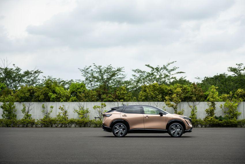 Nissan Ariya production electric SUV – up to 388 hp, 610 km range, e-4ORCE AWD, 0-100 km/h 5.1 secs Image #1147006