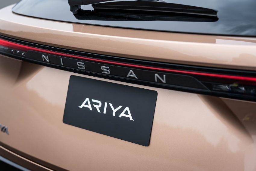 Nissan Ariya production electric SUV – up to 388 hp, 610 km range, e-4ORCE AWD, 0-100 km/h 5.1 secs Image #1147015