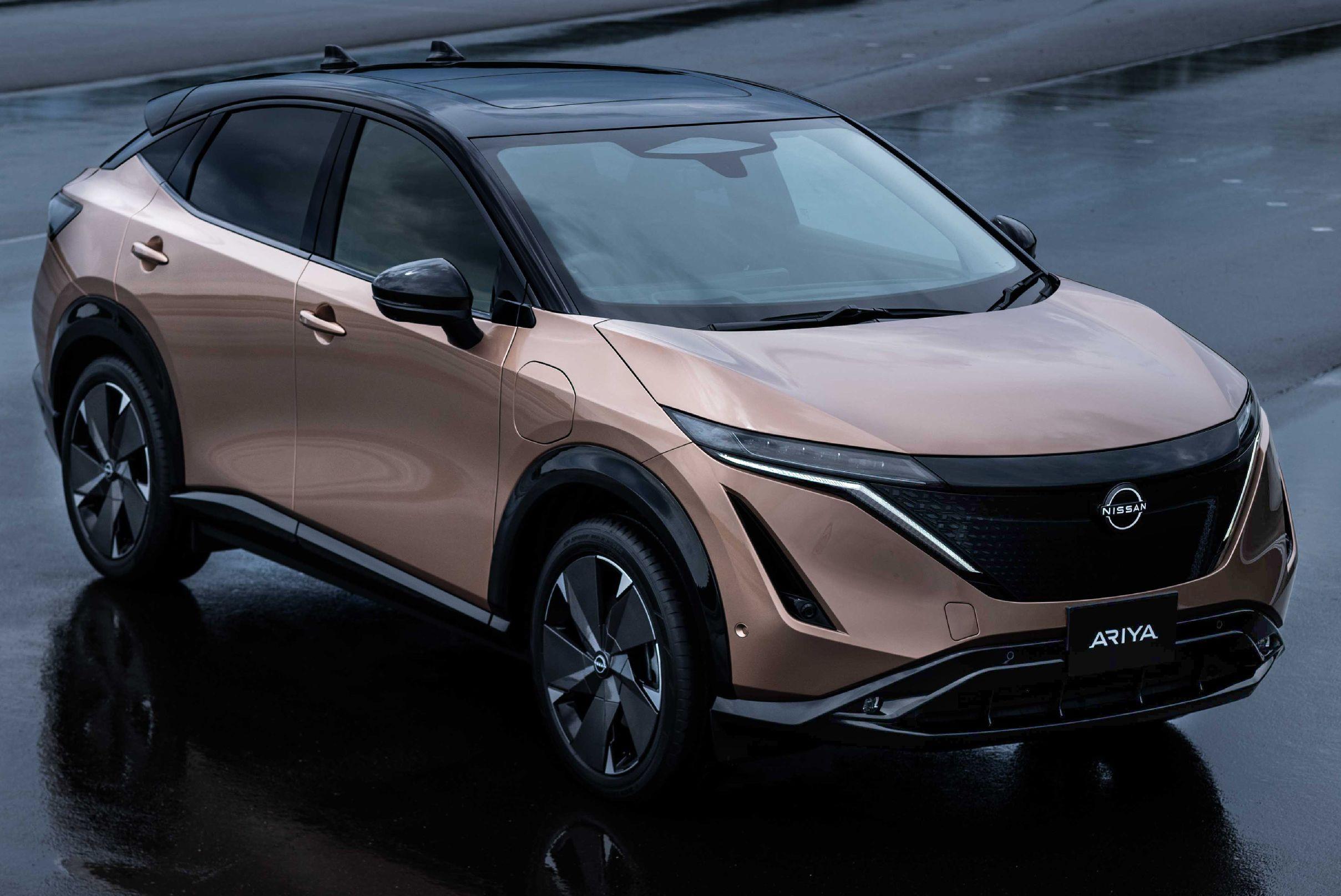 Nissan Ariya Production Electric Suv Up To 388 Hp 610 Km Range E 4orce Awd 0 100 Km H 5 1 Secs Paultan Org