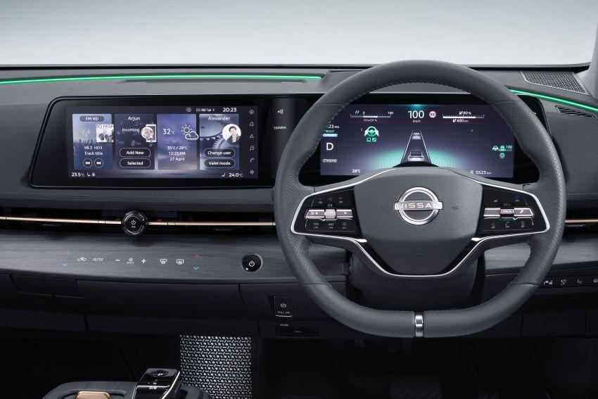 Nissan Ariya production electric SUV – up to 388 hp, 610 km range, e-4ORCE AWD, 0-100 km/h 5.1 secs Image #1147044