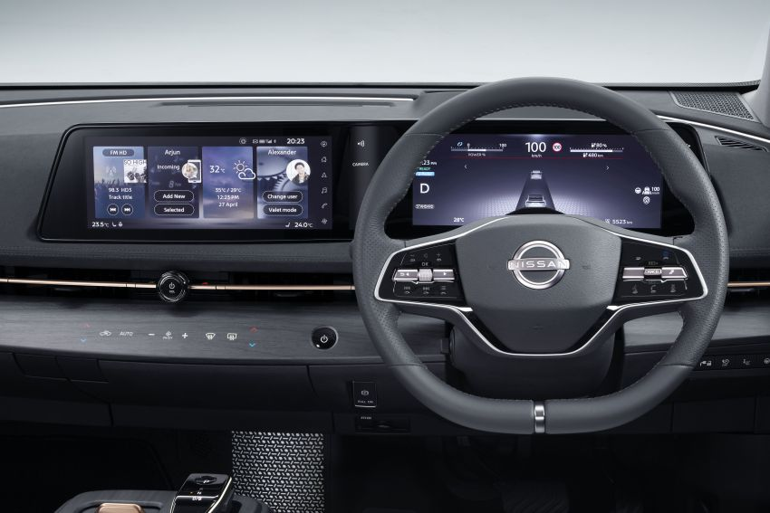 Nissan Ariya production electric SUV – up to 388 hp, 610 km range, e-4ORCE AWD, 0-100 km/h 5.1 secs Image #1147046