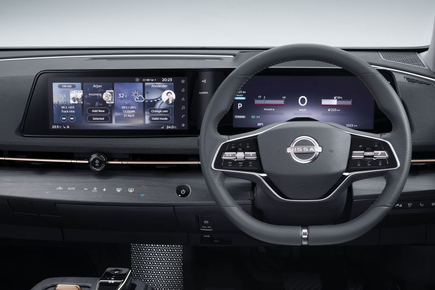 Nissan Ariya production electric SUV – up to 388 hp, 610 km range, e-4ORCE AWD, 0-100 km/h 5.1 secs Image #1147047