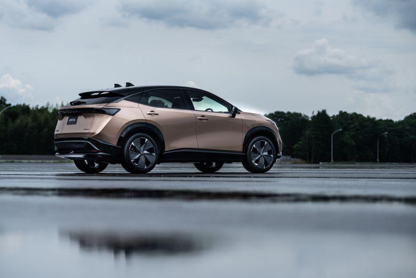 Nissan Ariya production electric SUV – up to 388 hp, 610 km range, e-4ORCE AWD, 0-100 km/h 5.1 secs Image #1146989