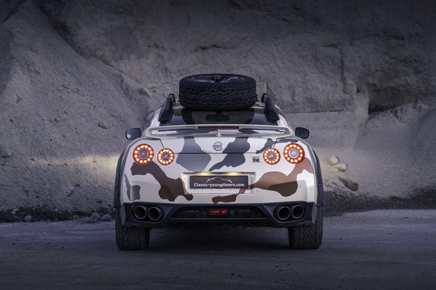 "Nissan GT-R Offroad ""Godzilla 2.0"" – 600 hp off-roader Image #1144333"