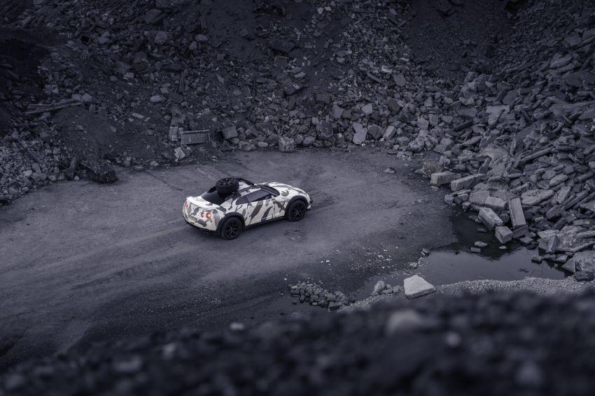 Godzilla 2.0 – Nissan GT-R R35 2010 untuk <em>off-road</em> Image #1143964