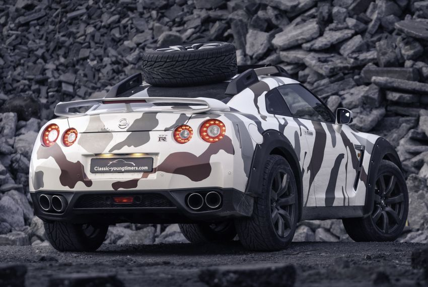 Godzilla 2.0 – Nissan GT-R R35 2010 untuk <em>off-road</em> Image #1143951