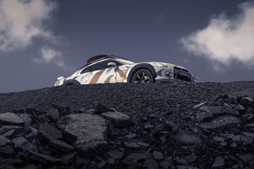 Godzilla 2.0 – Nissan GT-R R35 2010 untuk <em>off-road</em> Image #1143972